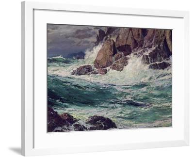 Stormy Seas, 1923-Edward Henry Potthast-Framed Giclee Print