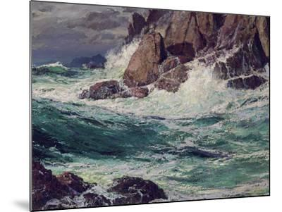 Stormy Seas, 1923-Edward Henry Potthast-Mounted Giclee Print