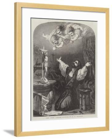 The Ivory Carver-Edward Henry Wehnert-Framed Giclee Print