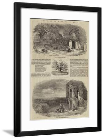 Sketches in Hainault Forest-Edward Duncan-Framed Giclee Print