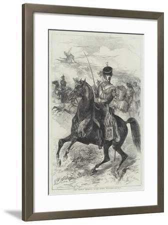The French Imperial Guard, Horse Artillery-Edmond Morin-Framed Giclee Print