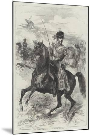 The French Imperial Guard, Horse Artillery-Edmond Morin-Mounted Giclee Print
