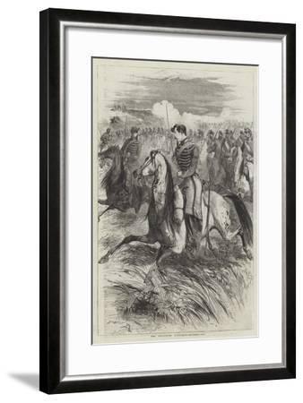 The Chasseurs D'Afrique-Edmond Morin-Framed Giclee Print