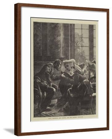 Piety, Prudence, and Charity, and the Modern Christian-Edward John Gregory-Framed Giclee Print