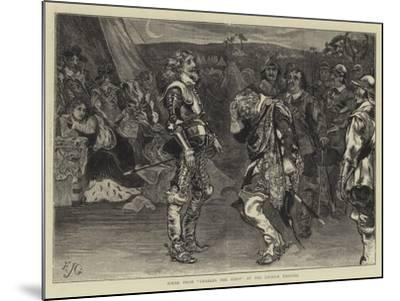 Scene from Charles the First at the Lyceum Theatre-Edward John Gregory-Mounted Giclee Print
