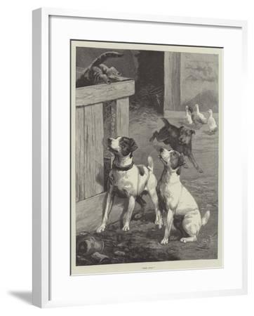 Gone Away!-Fannie Moody-Framed Giclee Print