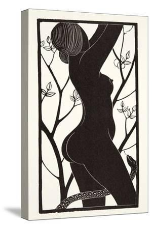Eve, 1926-Eric Gill-Stretched Canvas Print