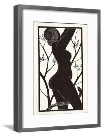Eve, 1926-Eric Gill-Framed Giclee Print