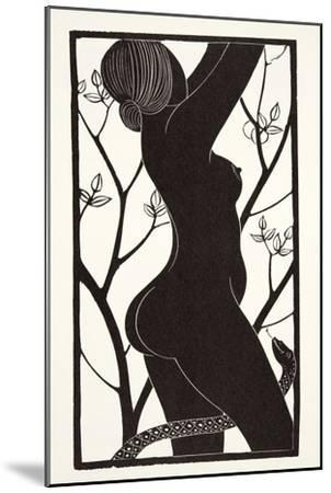 Eve, 1926-Eric Gill-Mounted Giclee Print