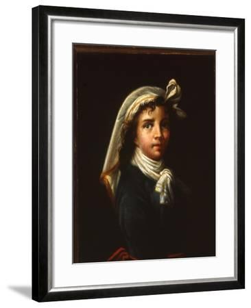 Young Woman, C.1880-Elisabeth Louise Vigee-LeBrun-Framed Giclee Print