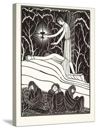 The Agony in the Garden, 1926-Eric Gill-Stretched Canvas Print