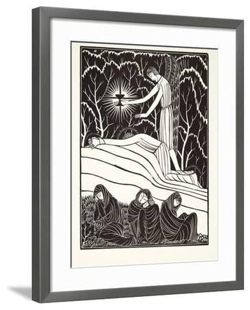 The Agony in the Garden, 1926-Eric Gill-Framed Giclee Print