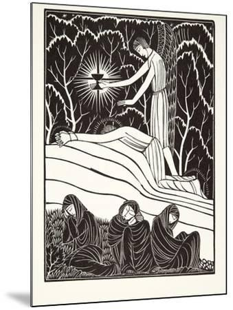 The Agony in the Garden, 1926-Eric Gill-Mounted Giclee Print