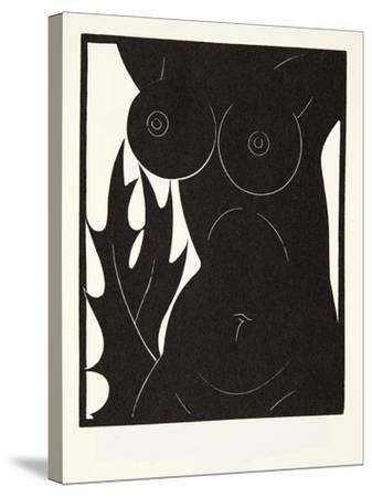 The Thorn in the Flesh, 1921-Eric Gill-Stretched Canvas Print