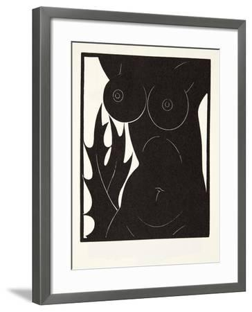 The Thorn in the Flesh, 1921-Eric Gill-Framed Giclee Print
