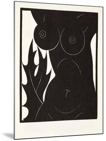 The Thorn in the Flesh, 1921-Eric Gill-Mounted Giclee Print