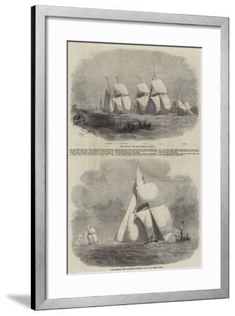 Boston Yacht Club Regatta-Edwin Weedon-Framed Giclee Print