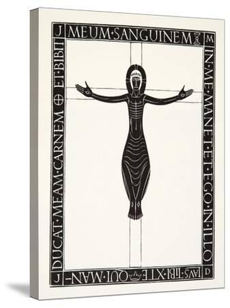 Crucifix, 1919-Eric Gill-Stretched Canvas Print