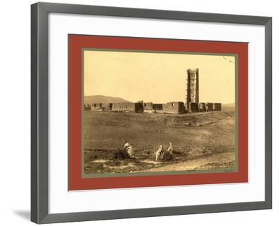 Tlemcen Enclosure Mansoura, Algiers-Etienne & Louis Antonin Neurdein-Framed Giclee Print