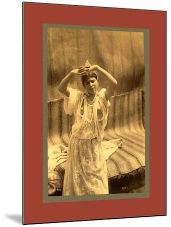 Tlemcen, Young Moorish Woman-Etienne & Louis Antonin Neurdein-Mounted Giclee Print