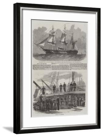 Loss of the Conqueror-Edwin Weedon-Framed Giclee Print