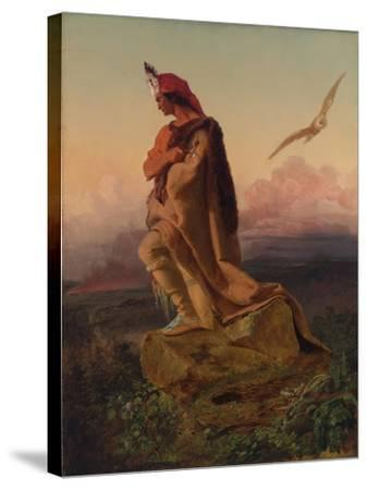 The Last of the Mohicans-Emanuel Gottlieb Leutze-Stretched Canvas Print