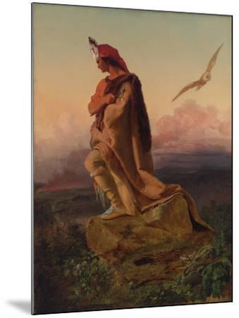 The Last of the Mohicans-Emanuel Gottlieb Leutze-Mounted Giclee Print