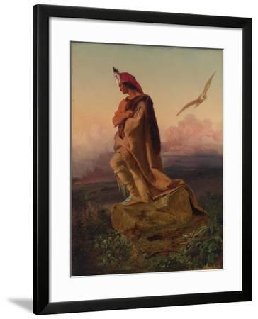 The Last of the Mohicans-Emanuel Gottlieb Leutze-Framed Giclee Print