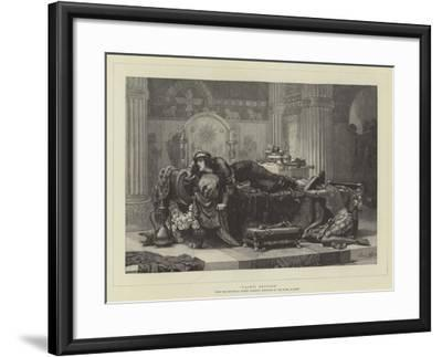 Vashti Deposed-Ernest Normand-Framed Giclee Print
