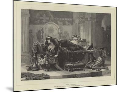 Vashti Deposed-Ernest Normand-Mounted Giclee Print