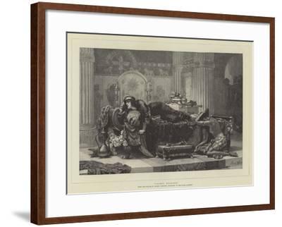 Vashti Deposed-Ernest Normand-Framed Giclee Print
