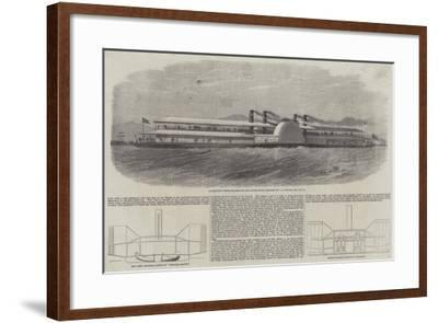 Government Troop Steamer for the Lower Indus-Edwin Weedon-Framed Giclee Print