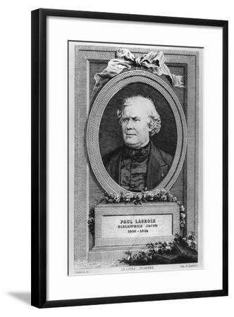Portrait of Paul Lacroix-Eugène Gaujean-Framed Giclee Print