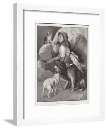 Off with the Old Love; on with the New-Fannie Moody-Framed Giclee Print