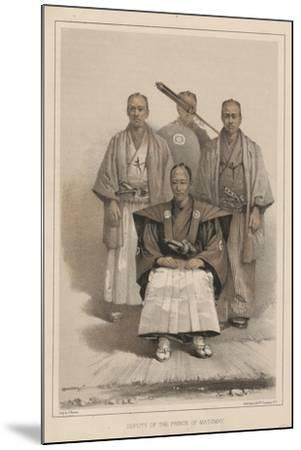 Deputy of the Prince of Matsmay, 1885-Eliphalet Brown-Mounted Giclee Print