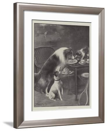 Seizing the Opportunity-Fannie Moody-Framed Giclee Print