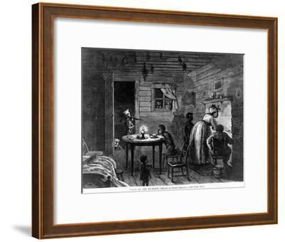 Visit of the Ku-Klux, 1872-Frank Bellew-Framed Giclee Print