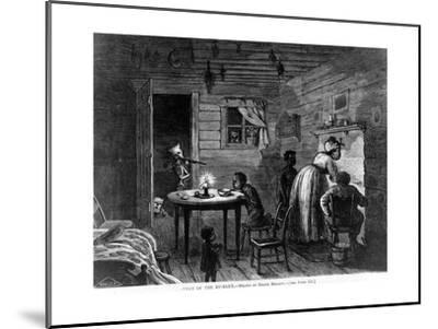 Visit of the Ku-Klux, 1872-Frank Bellew-Mounted Giclee Print