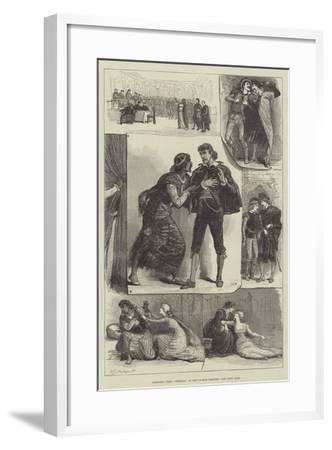 Sketches from Othello, at the Lyceum Theatre-Francis S. Walker-Framed Giclee Print