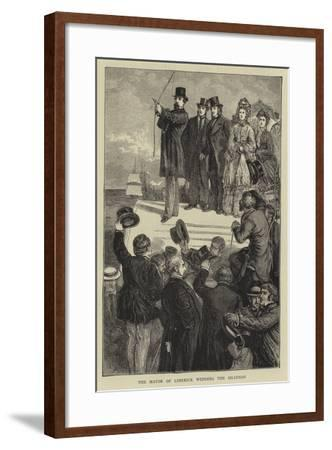 The Mayor of Limerick Wedding the Shannon-Francis S. Walker-Framed Giclee Print