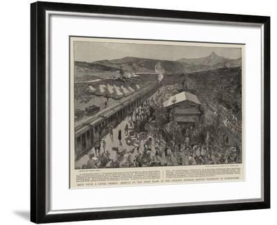 Help from a Loyal Prince-Frank Craig-Framed Giclee Print