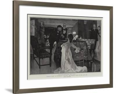 Caesar's Wife at Wyndham's Theatre, the Closing Scene of the Last Act-Frank Craig-Framed Giclee Print