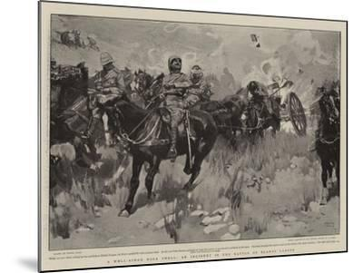 A Well-Aimed Boer Shell, an Incident in the Battle of Elands Laagte-Frank Craig-Mounted Giclee Print