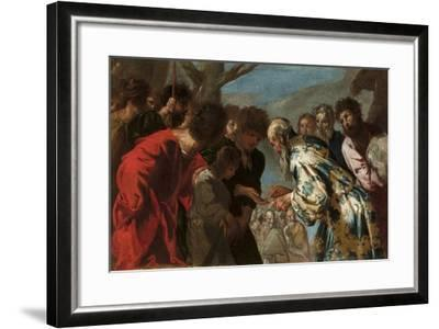 Joseph Sold by His Brothers, C.1657-58-Francesco Maffei-Framed Giclee Print