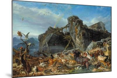 After the Flood: the Exit of Animals from the Ark, 1867-Filippo Palizzi-Mounted Giclee Print