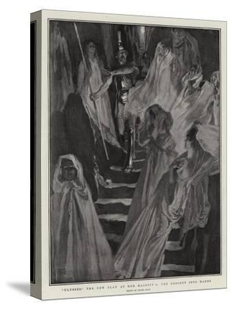 Ulysses, the New Play at Her Majesty'S, the Descent into Hades-Frank Craig-Stretched Canvas Print