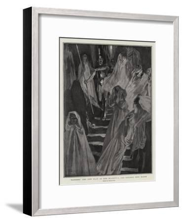 Ulysses, the New Play at Her Majesty'S, the Descent into Hades-Frank Craig-Framed Giclee Print