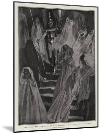 Ulysses, the New Play at Her Majesty'S, the Descent into Hades-Frank Craig-Mounted Giclee Print