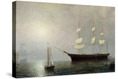 The Ship Starlight, C.1860-Fitz Henry Lane-Stretched Canvas Print