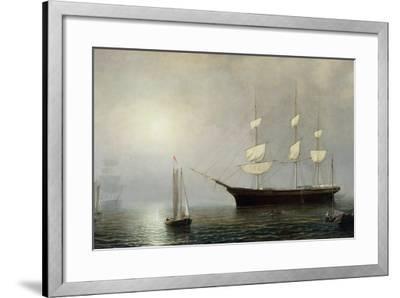 The Ship Starlight, C.1860-Fitz Henry Lane-Framed Giclee Print